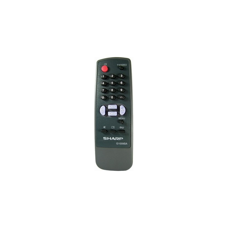 G1059 TV CONTROL SHARP 1059