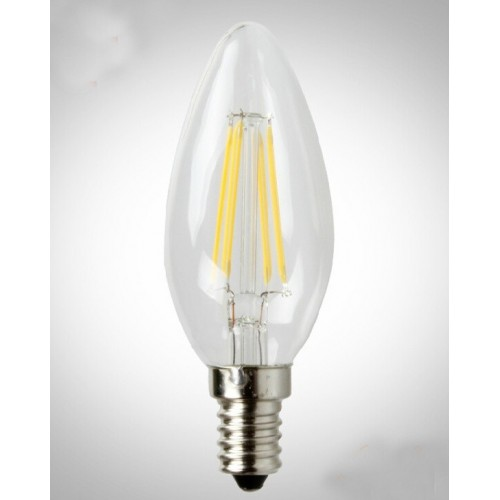 ΛΑΜΠΤΗΡΑΣ LED FILAMENT DIMMABLE 4W E14 - C35 2700K