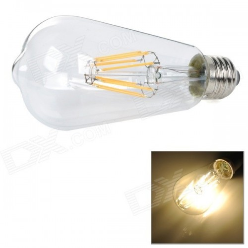 ΛΑΜΠΤΗΡΑΣ LED FILAMENT DIMMABLE 4W E27 - Α64