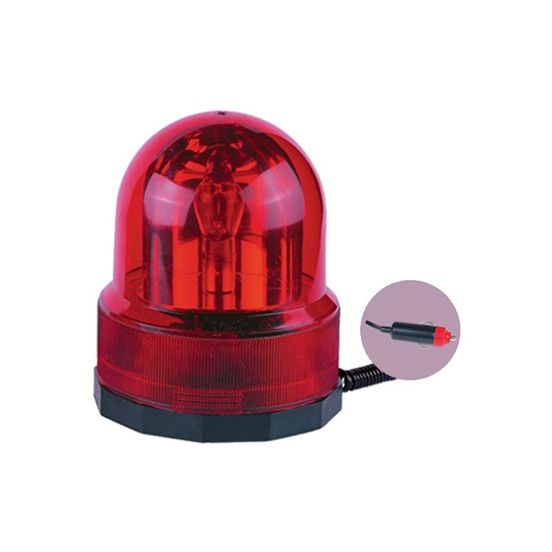 REVOLVING WARNING LIGHT RED