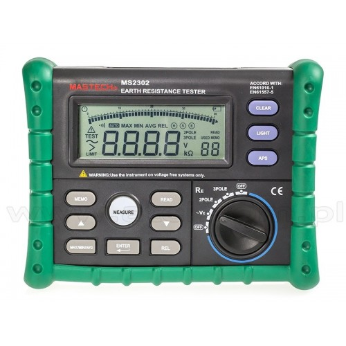 Mastech MS2302 - Earth resistance tester