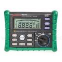 Mastech MS2302, уред за измерване на земно съпротивление, 0.01 Ohm - 4000 Ohm