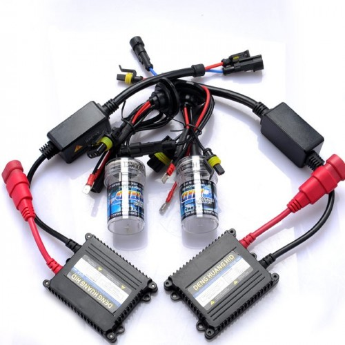 H7 6000k HID Slim Ballast Xenon Headlamp Kit