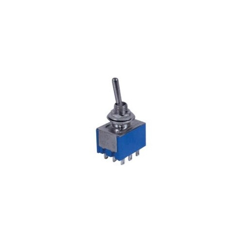 MINI TOGGLE SWITCH ON-OFF-ON 2A/250V 9P MTS-303-A1