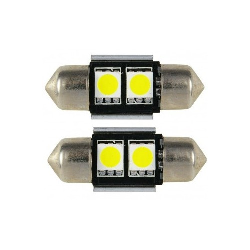 AUTO LED LAMP 31mm WHITE 2 TEMAXIA