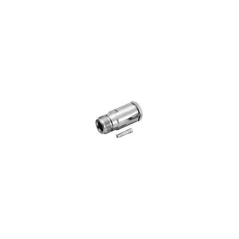 N-TYPE FEMALE CONNECTOR RG58/U TEFLON