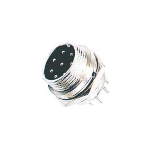 MICROPHONE CONNECTOR MALE 8P LZ314 (CN034) LZ