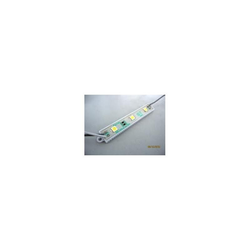 MODULE ΜΕ 3 ΙΣΧΥΡΑ LED 12Vdc 0.9W 120° IP68 ΨΥΧΡΟ ΛΕΥΚΟ TEMAXIO