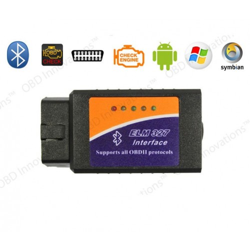 ELM327 Bluetooth 2.1V OBD2 Vehicle Diagnostic Tool