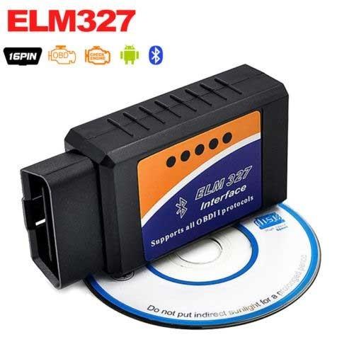 ELM327 Bluetooth 2.1V OBD2 Vehicle Diagnostic Tool
