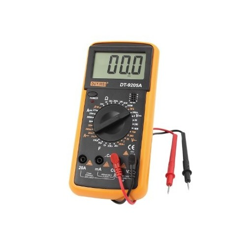 DT9205A Handheld LCD Display Digital Multimeters DMM with AC DC