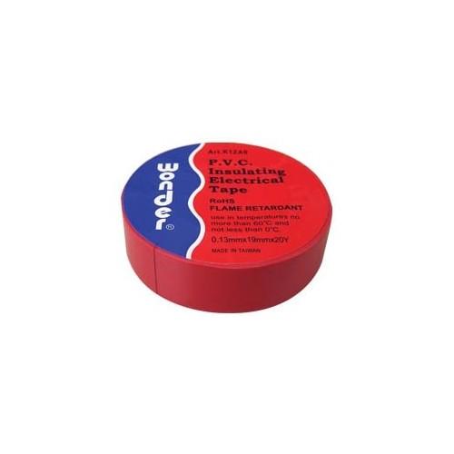 ΜΟΝΩΤΙΚΗ ΤΑΙΝΙΑ WONDER ΑΚΑΥΣΤΗ PVC 0,13*19mm 0-60° C ΚΟΚΚΙΝΗ