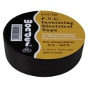 Insulating adhesive tape 0,13mm / 19mm / black 20m