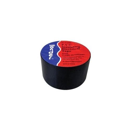 ΤΑΙΝΙΑ ΜΟΝΩΤΙΚΗ PVC 0.13X38X20Y ΜΑΥΡΗ