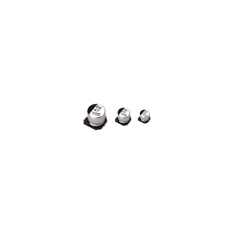 ΠΥΚΝΩΤΗΣ ΗΛΕΚΤΡΟΛΥΤΙΚΟΣ SMD 47μF/6.3V 105°C 5Χ5.3