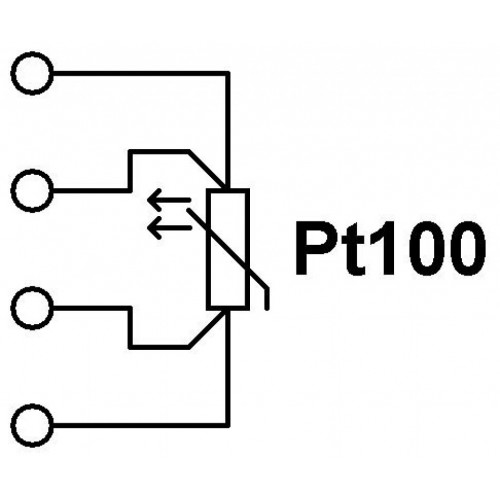 PT100 Φ6.4 100mm ΟΡΓΑΝΑ