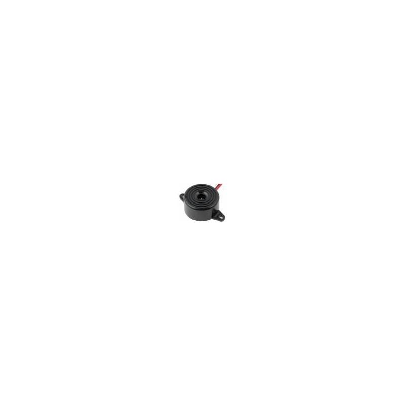 BUZZER 2-24 Vdc 23mm 85db ΜΕ ΚΑΛΩΔΙΑ ΣΥΝΔΕΣΗΣ