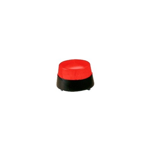 Red Mini Wired Strobe Siren DC12V