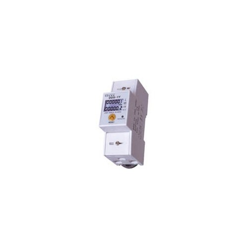 DIN RAIL DIGITAL kWh METER SINGLE-PHASE 5-80Α