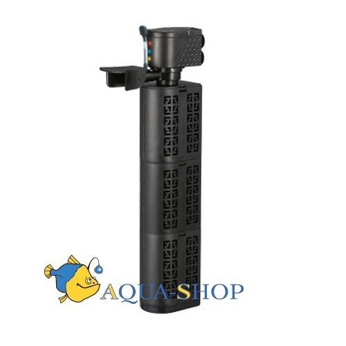 Xilongchi Aquarium fish tank filter oxygenation dual-use submersible pump three in one internal filter water Purifier 1800 l/...
