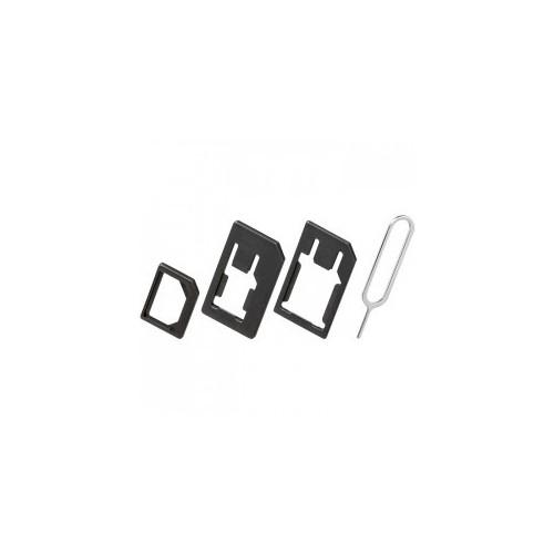 Nano Sim Adapter - Nano Sim Card to Micro Sim - Standard Sim Adapter for iPhone