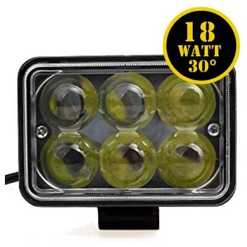 LED Driving Lights 18W LED ΜΠΑΡΕΣ