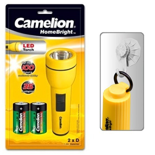 Camelion Products Mobile Lights Torches SuperBright™ 1 LED (2D) Classic 1 LED Flashlight / FL1L2D