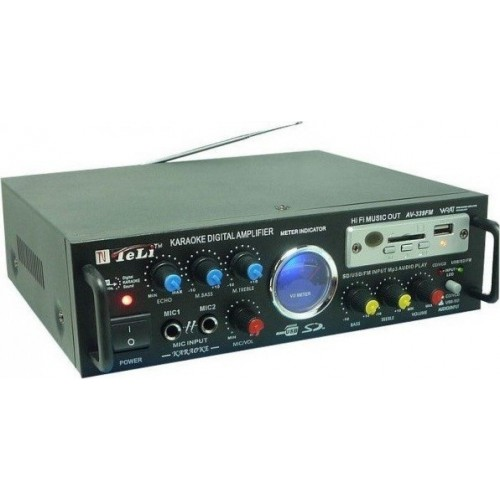 TeLi AV-339 KARAOKE Digital Amplifier