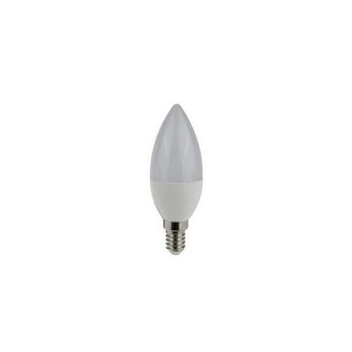 ΛΑΜΠΑ ΚΕΡΙ ΜΕ SMD LED 230V 7W E14 6000K 200° 630 LUMEN